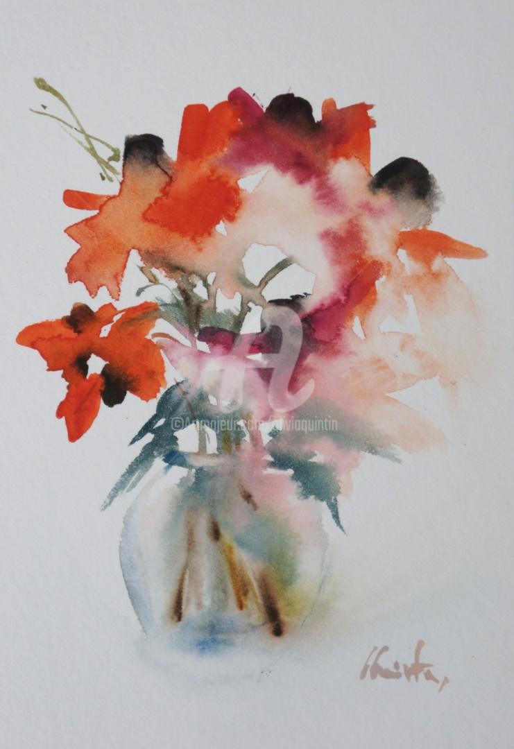 Olivia Quintin - rudbeckias orangé