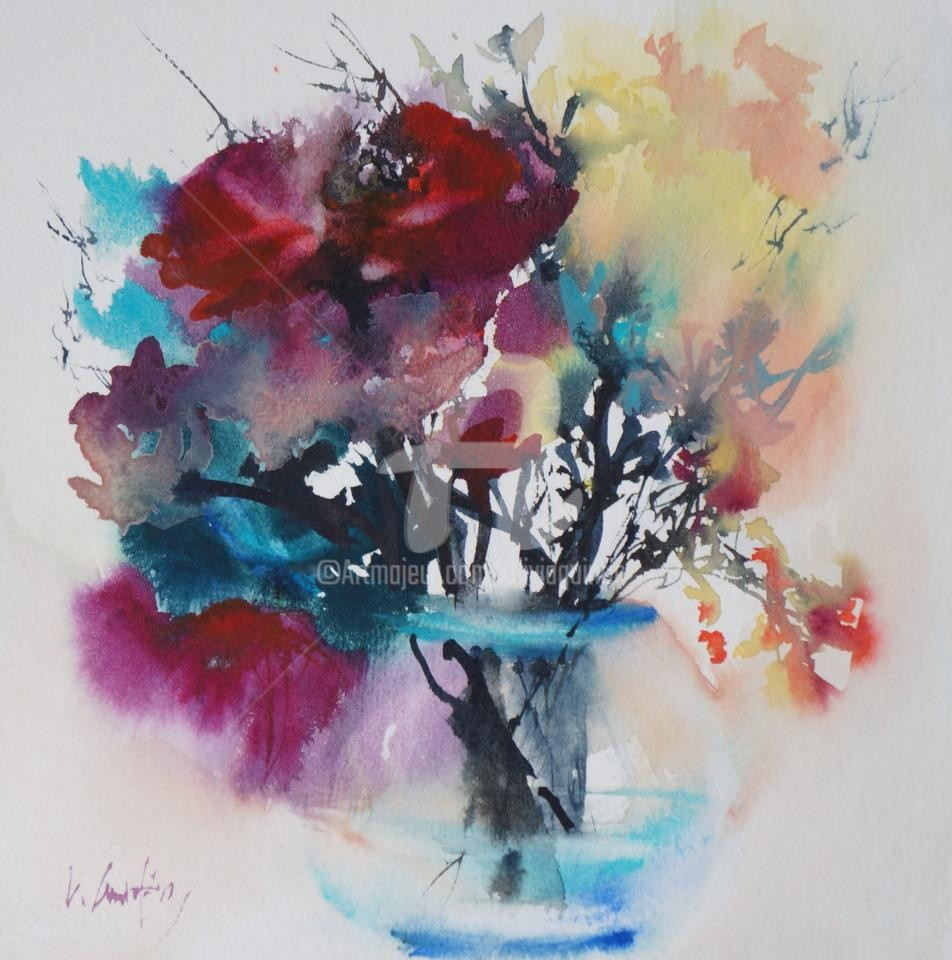 Olivia Quintin - VA7 bouquet de fleurs Savane