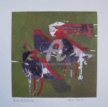 Gravures & estampes, gravure, figuratif, œuvre d'art par Olivia Quintin