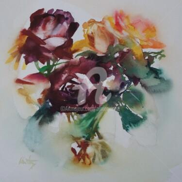 Peinture, aquarelle, œuvre d'art par Olivia Quintin