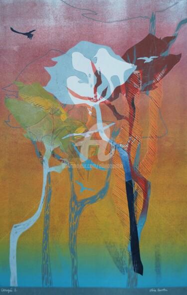 Gravures & estampes Arbre, gravure, figuratif, œuvre d'art par Olivia Quintin
