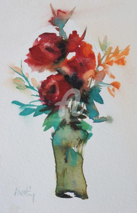 Olivia Quintin - deux roses