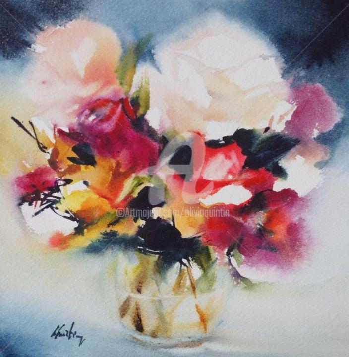 Olivia Quintin - bouquet de fleurs Lampion floral